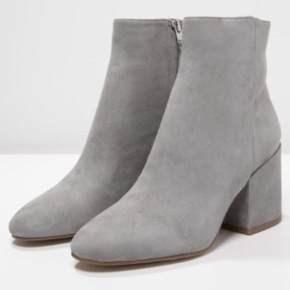 5b926df67 Sam Edelman grey suede ankle boot so. 6.5 EUC. M 5c562727a5d7c6ef78113581